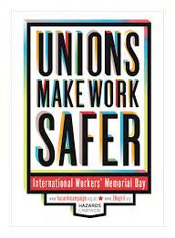 Unions make work safer