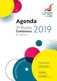 Unite Rules Conference 1